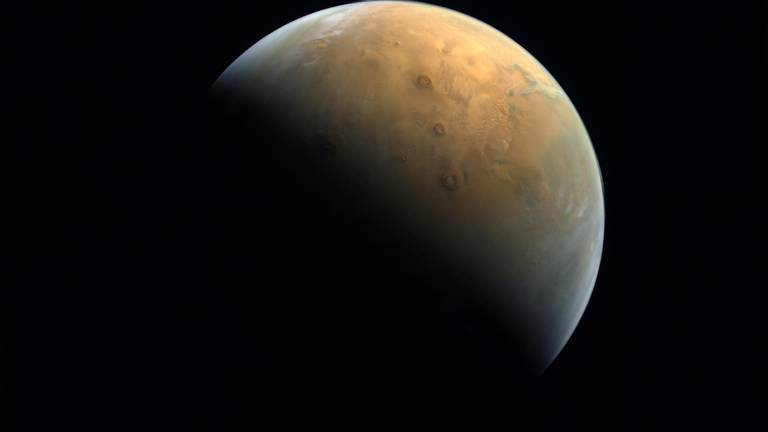 An image that illustrates this article A year of Hope: How UAE's Mars mission has crossed science's frontiers
