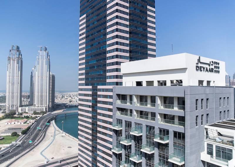 DUBAI, UNITED ARAB EMIRATES. 29 OCTOBER 2019. Deyaar properties on Business Bay.(Photo: Reem Mohammed/The National)Reporter:Section: