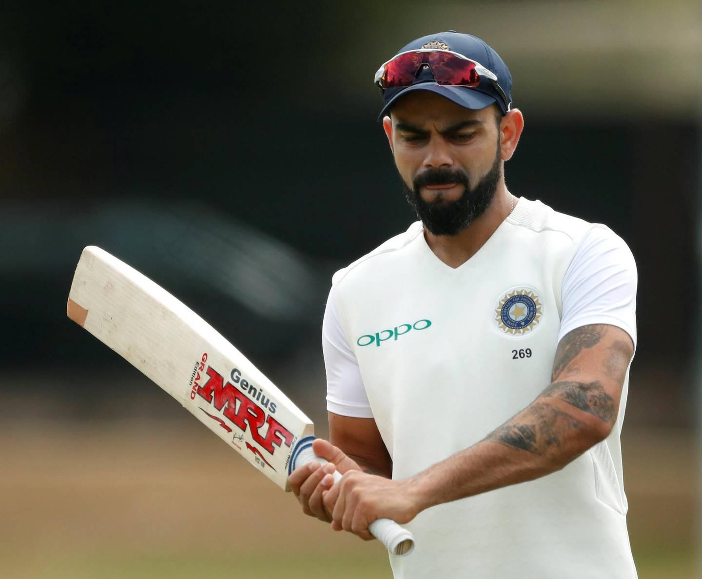 Cricket - India Nets - Edgbaston, Birmingham, Britain - July 30, 2018   India's Virat Kohli during nets   Action Images via Reuters/Andrew Boyers