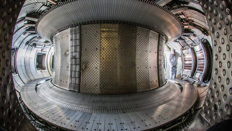 An image that illustrates this article Does a future exist with nuclear fusion?