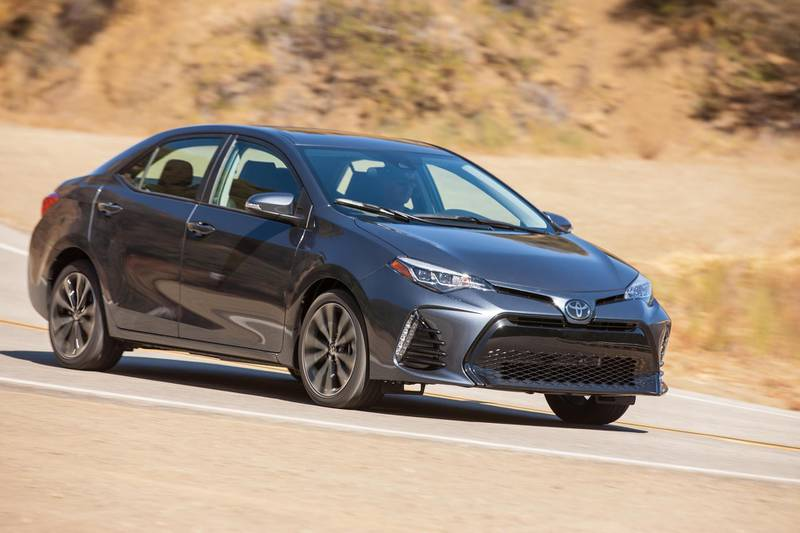 2017-2018 Toyota Corolla XSE. Courtesy Toyota