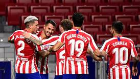 Atletico Madrid climb to third in La Liga after 'vital' win over Valladolid - in pictures