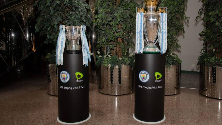 An image that illustrates this article Premier League and Carabao Cup trophies to go on display at Expo 2020 Dubai