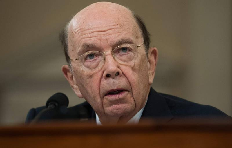 """(FILES) In this file photo taken on March 22, 2018 US Commerce Secretary Wilbur Ross testifies about US tariffs on steel and aluminum imports during a House Ways and Means Committee hearing on Capitol Hill in Washington, DC. US Commerce Secretary Wilbur Ross on July 12, 2018 said he would sell all his remaining equity holdings after the government's federal ethics agency said his failure to divest some assets """"created the potential for a serious criminal violation.""""  / AFP / SAUL LOEB"""