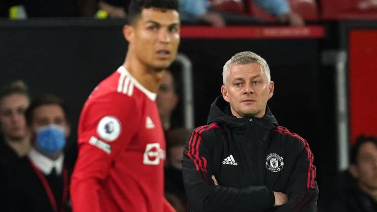 An image that illustrates this article Solskjaer's time at United appears doomed. It wasn't supposed to be like this