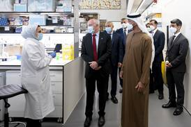 Sheikh Mohamed bin Zayed sees Zayed Centre for Research work at UK children's hospital
