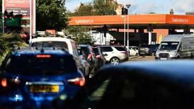 UK drivers advised to keep quarter tank of fuel during trucking crisis