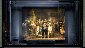 Rembrandt painting 'The Night Watch' restored to original size using artificial intelligence
