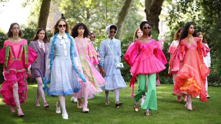 An image that illustrates this article A hybrid London Fashion Week kicks off in style with runway shows
