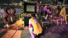 Hundreds turn out at JLT Park to pay tribute to Kobe and Gianna Bryant - in pictures
