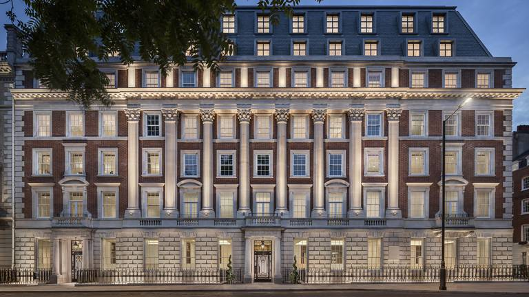 An image that illustrates this article One Grosvenor Square a luxury development in London - in pictures