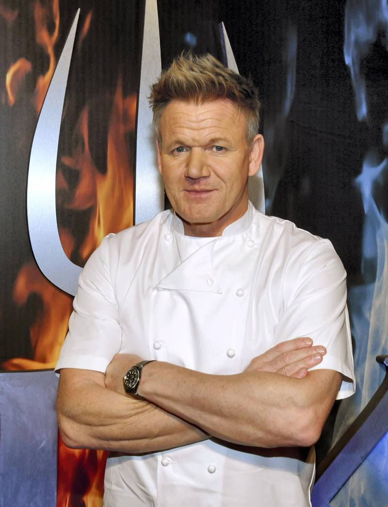 LAS VEGAS, NEVADA - MAY 10: Chef and television personality Gordon Ramsay attends the 13th annual Vegas Uncork'd by Bon Appetit Grand Tasting event presented by the Las Vegas Convention and Visitors Authority at Caesars Palace on May 10, 2019 in Las Vegas, Nevada.   Ethan Miller/Getty Images for Vegas Uncorkd by Bon Appétit/AFP