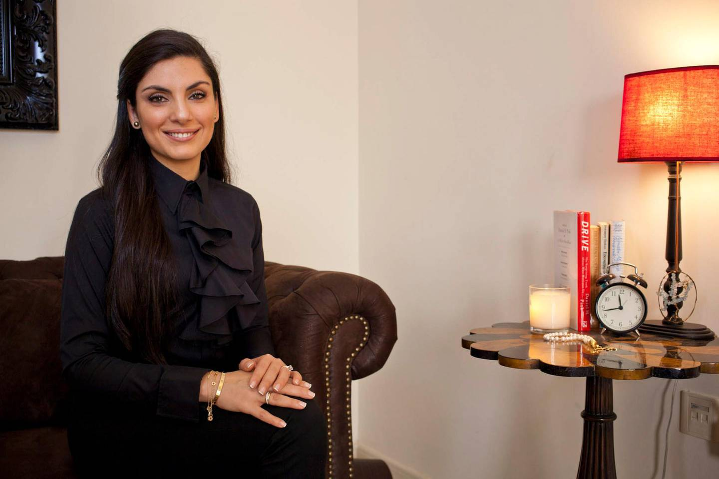 Dubai, United Arab Emirates - March 12 2014 - Dr. Saliha Afridi, Clinical Psychologist and Director of Lighthouse Arabia poses for a portrait at her office. Section: Business. Reporter: Andrea Anastasiou. (Razan Alzayani / The National).