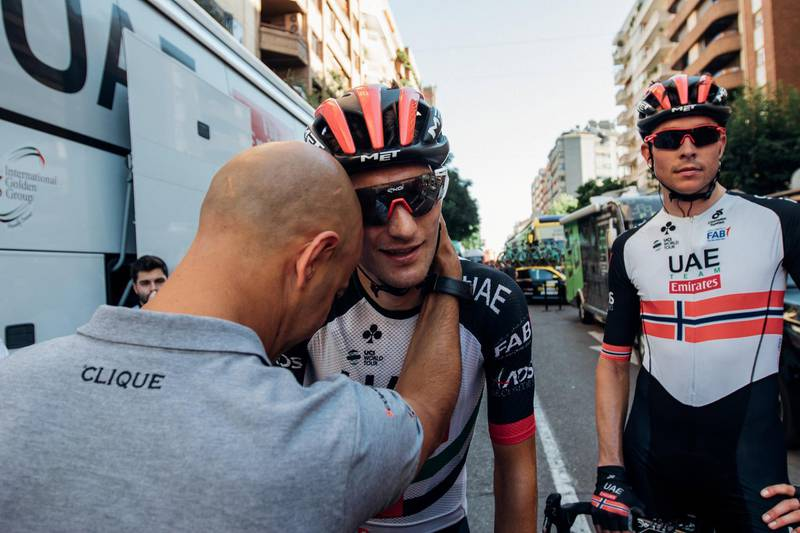 Vuelta - Sven Erik Bystrom and Vegard Stake Laengen