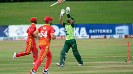 Pakistan bowled out of 99 in second T20 by Zimbabwe - in pictures