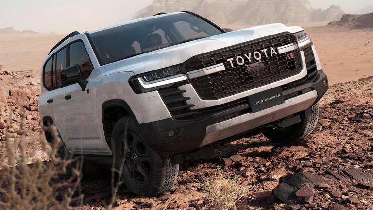 An image that illustrates this article Toyota Land Cruiser GR Sport makes landfall in the UAE