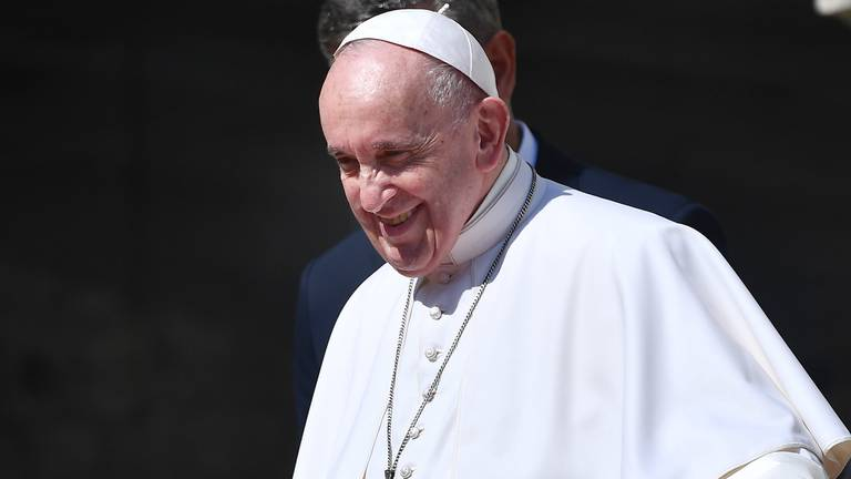 An image that illustrates this article Pope Francis calls for European unity in Covid-19 recovery