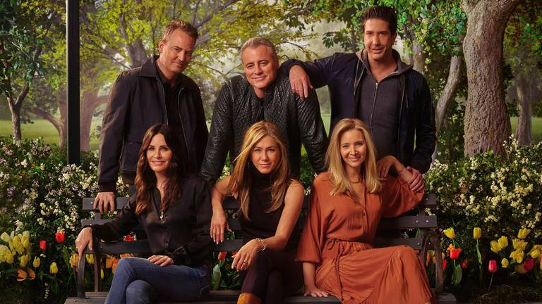 An image that illustrates this article 'Friends: The Reunion' will be available to watch in the UAE at same time as US