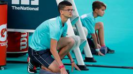 Chance for young fans to become ball kids at Mubadala World Tennis Championship