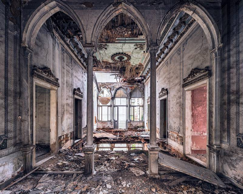 PARIS BY DESIGNA stunning abandoned mansion, that somehow retains the ceiling detail. It took some editing in post processing, as both of my visits were scuppered by the wet weather and the wind driving straight through the ruins. Courtesy: James Kerwin