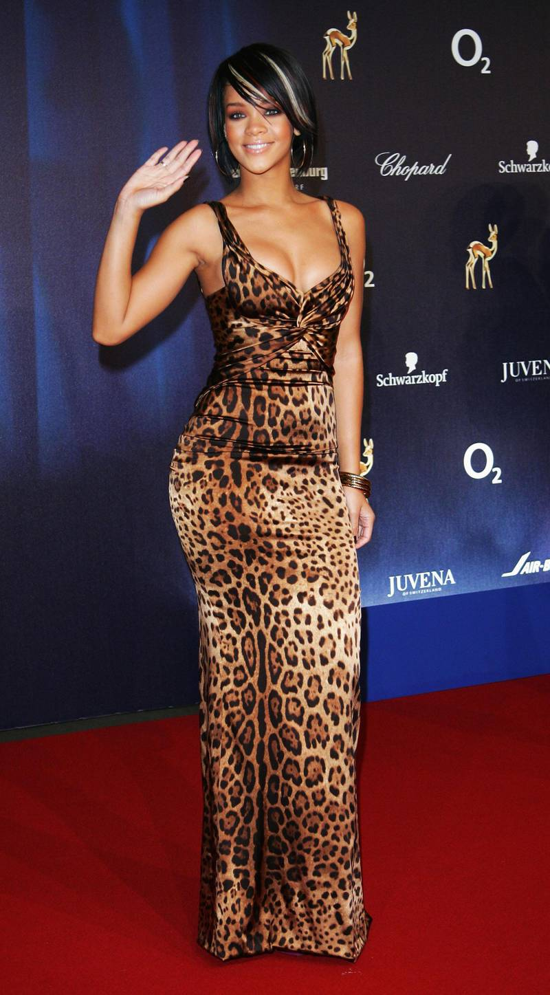 DUESSELDORF, GERMANY - NOVEMBER 29:  Singer Rihanna attends the annual Bambi Awards 2007 on November 29, 2007 in Duesseldorf, Germany.  (Photo by Andreas Rentz/Getty Images)