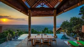In pictures: the 10 most 'wishlisted' holiday homes on Airbnb – from Bali to Santorini