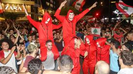 Dabke, DJs and Baby Shark: the best tweets from the Lebanon protests
