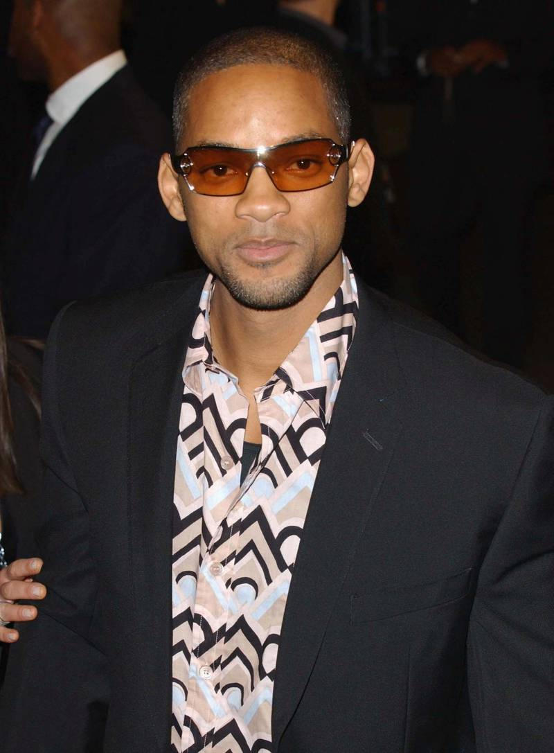 """LONDON - SEPTEMBER 30:  Actor Will Smith arrives at the premiere of """"Bad Boys 2"""" at the Odeon Leicester Square on September 30, 2003 in London, England.  (Photo by Steve Finn/Getty Images)"""