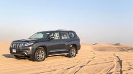 Off-roading with the new Toyota Land Cruiser Prado