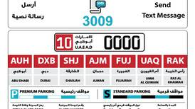 Abu Dhabi's Mawaqif SMS parking payment service to use new codes