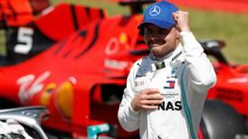 Valtteri Bottas edges Lewis Hamilton to complete pole hat-trick at Spanish Grand Prix