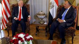 US reiterates support for Egypt during Tillerson visit to Cairo