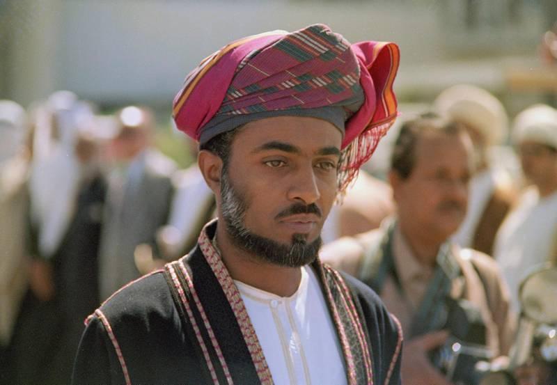 Sultan of Oman Qaboos bin Said al Said is pictured in 1975. (AP Photo)
