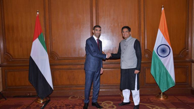 An image that illustrates this article UAE and India explore expanding trade and investment ties
