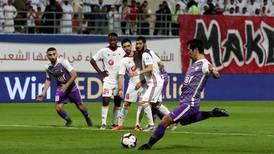 Sharjah snatch draw against Al Ain to edge closer to Arabian Gulf League title