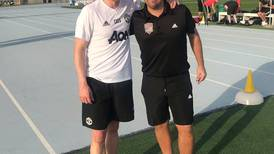 Kirk Hilton using his Manchester United experiences to nurture Dubai's youth football talent
