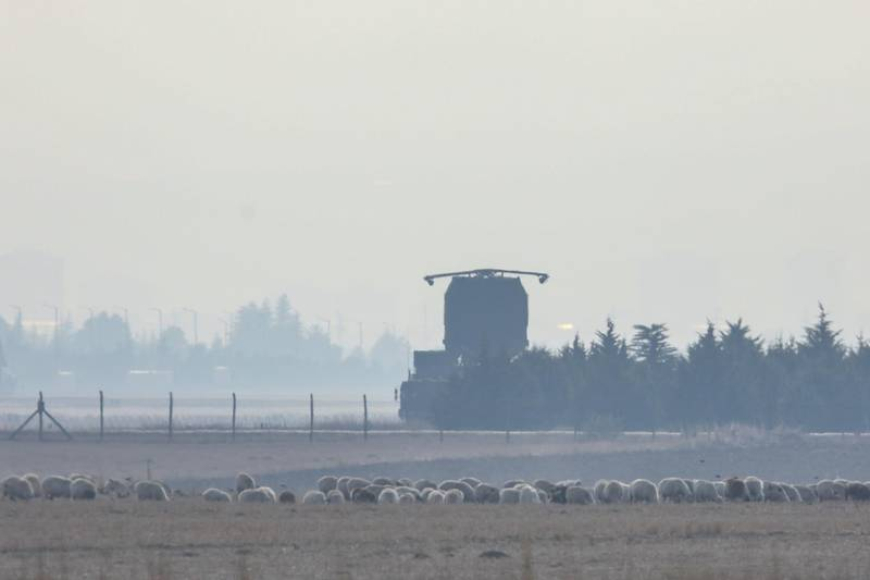 ANKARA, TURKEY - NOVEMBER 25: The S-400 air defence system from Russia is activated for testing at Turkish Air Force's Murdet Air Base on November 25, 2019 in Ankara, Turkey. Turkey purchased the anti-aircraft weapons system from Russia over the objections of the United States, which has threatened to sanction Turkey and exclude it from its F-35 fighter jet program. The U.S. fears that the F-35, which is designed to evade such anti-aircraft systems, will be compromised if Turkey deploys both. (Photo by Getty Images)