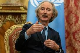 Syria constitutional committee schedules discussions for new charter, says UN envoy