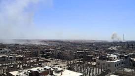 Rebels in Syria's Deraa partly surrender under Russian pressure