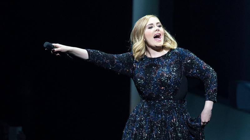 AMSTERDAM, NETHERLANDS - JUNE 01: Adele performs at the Ziggo Dome on June 1, 2016 in Amsterdam, Netherlands. (Photo by Michel Porro/Getty Images)