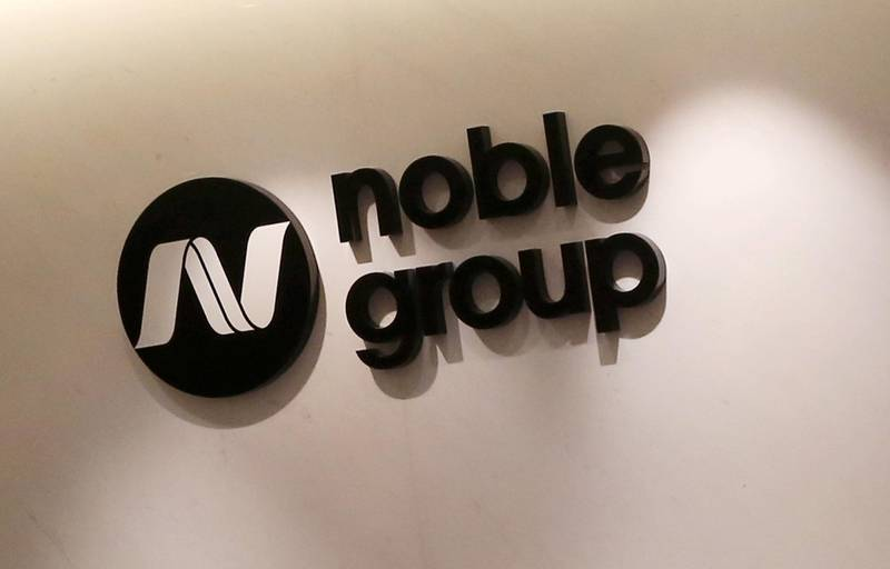FILE PHOTO: The company logo of Noble Group is seen at its headquarters in Hong Kong March 23, 2015.    REUTERS/Bobby Yip/File Photo                      GLOBAL BUSINESS WEEK AHEAD        SEARCH GLOBAL BUSINESS 26 FEB FOR ALL IMAGES
