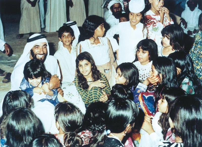 For the History Project. Folder #Zayed Mix Pic-Photo Courtesy-Al Ittihad