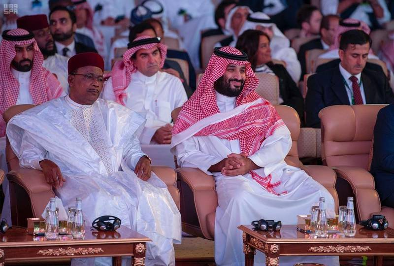 Riyadh, Oct. 29, 2019, SPA -- His Royal Highness Prince Mohammed bin Salman bin Abdulaziz, the Crown Prince, Deputy Prime Minister, Chairman of the Council of Economic Affairs and Development; and Chairman of the General Investments Fund today attended the workings of the 3rd version of the Investment Future Initiative 2019, organized here by the Riyadh-based General Investment Fund. SPA