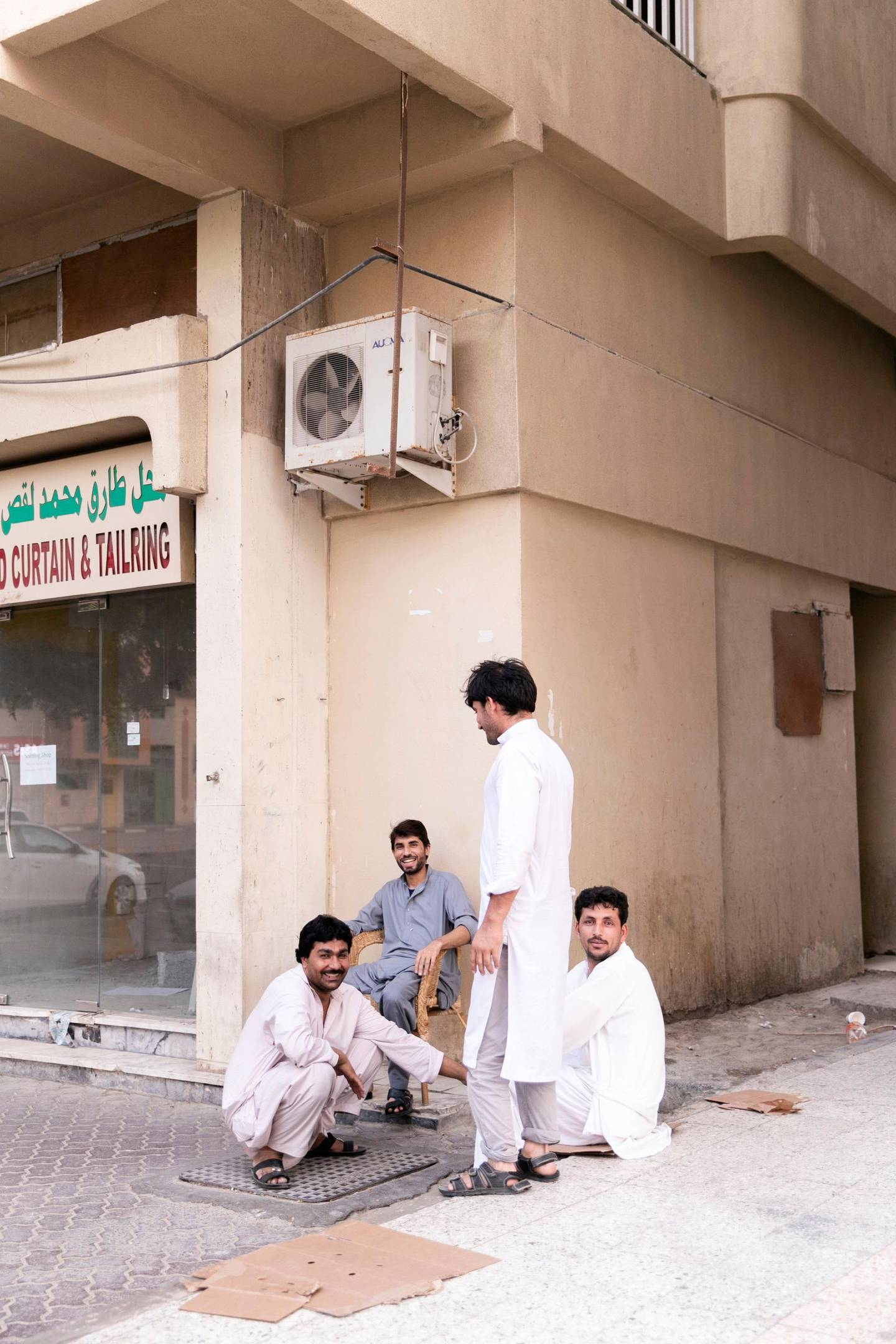 ABU DHABI, UNITED ARAB EMIRATES - JUNE 10, 2018. Abu Dhabi neighborhood: E20-02, known as Tankar Mai (water tank).(Photo by Reem Mohammed/The National)Reporter: John DennehySection: NA