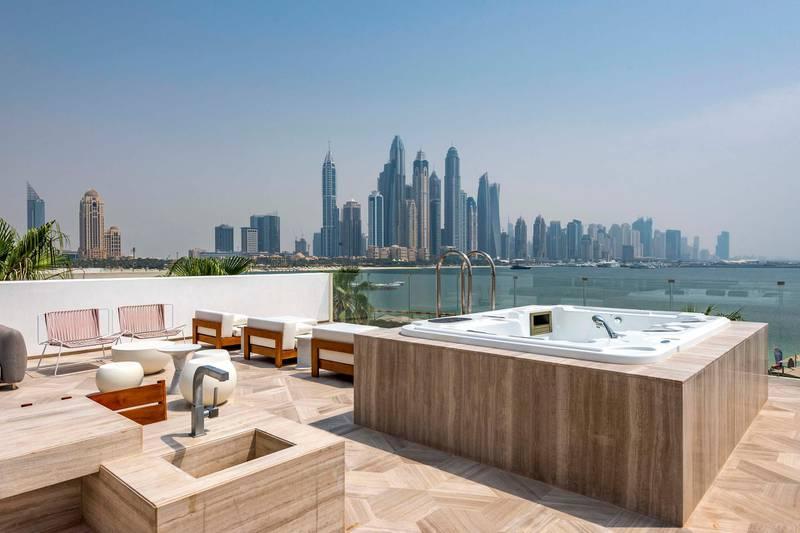 Palm private villa. Courtesy Gulf Sotheby's International Realty