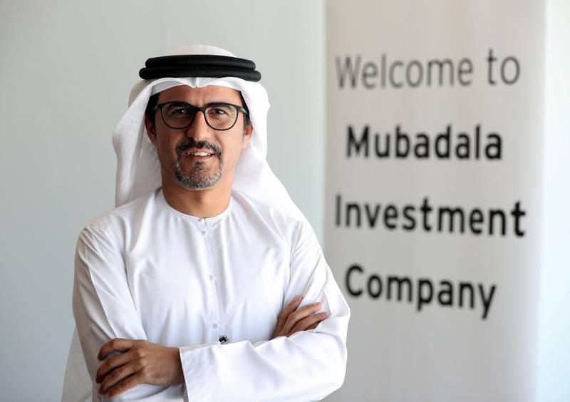 Abu Dhabi, United Arab Emirates - November 1st, 2017: Musabbeh Al Kaabi, Chief Executive Officer of Mubadala Petroleum & Petrochemicals. Wednesday, November 1st, 2017 at IPIC Tower, Abu Dhabi. Chris Whiteoak / The National