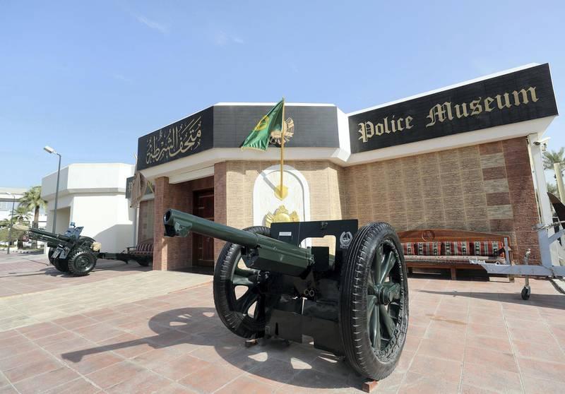 Dubai, United Arab Emirates - November 23rd, 2017: Story about the Dubai Police Museum. Thursday, November 23rd, 2017 at Dubai Police Museum, Dubai. Chris Whiteoak / The National
