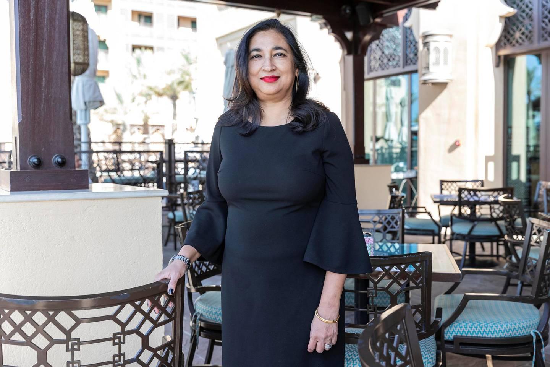 DUBAI, UNITED ARAB EMIRATES. 14 November 2019. Interview with Anita Bhatia Deputy Executive Director, UN Women. (Photo: Antonie Robertson/The National) Journalist: Anna Zacharias Section: National.