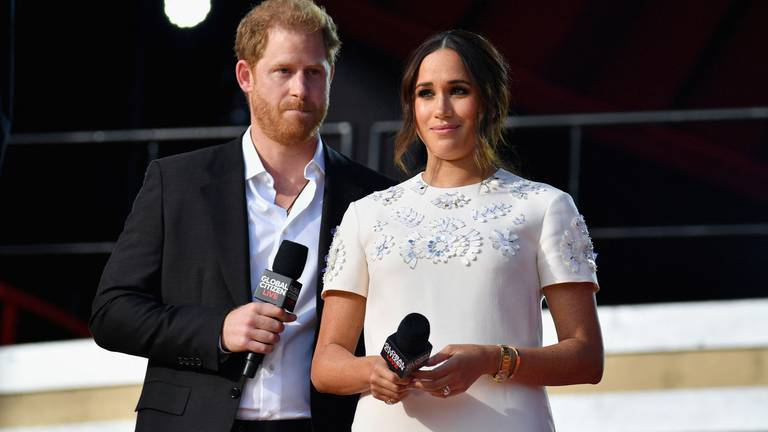 An image that illustrates this article Harry and Meghan call for vaccine equity at UNGA 2021