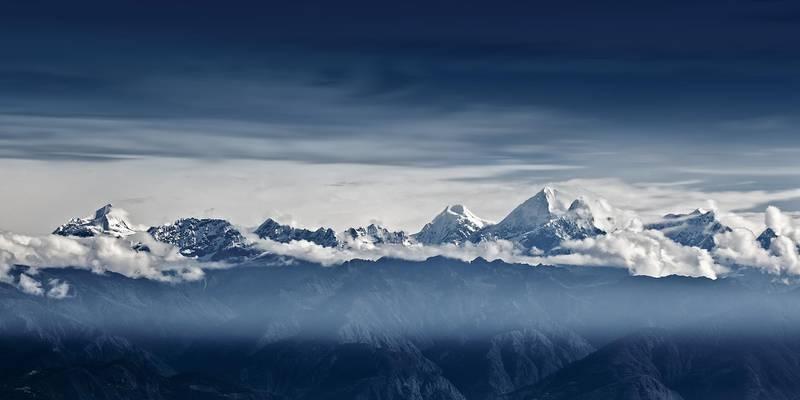 Himalaya Mountains, Nepal (Getty Images) *** Local Caption ***  wk05ma-myuae-himalayas.jpg